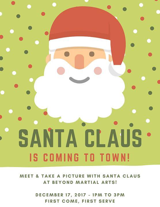 Free meet greet with santa at beyond martial arts bakersfield free meet greet with santa m4hsunfo