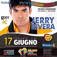 Jerry Rivera LIVE at Milano - Tour 2017