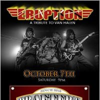Eruption debuts at Drafters in Dudley