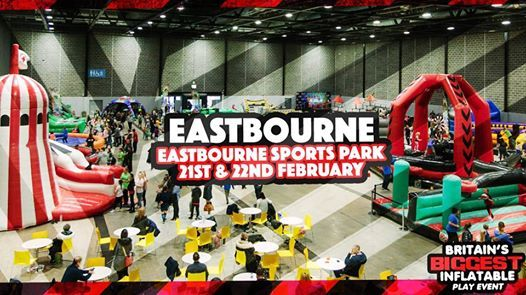 The UKs Largest Inflatable Park Comes To Eastbourne
