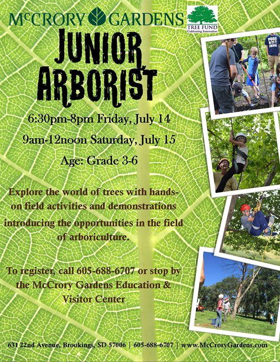 Junior Arborist - Day 2 of 2 at McCrory Gardens, Brookings