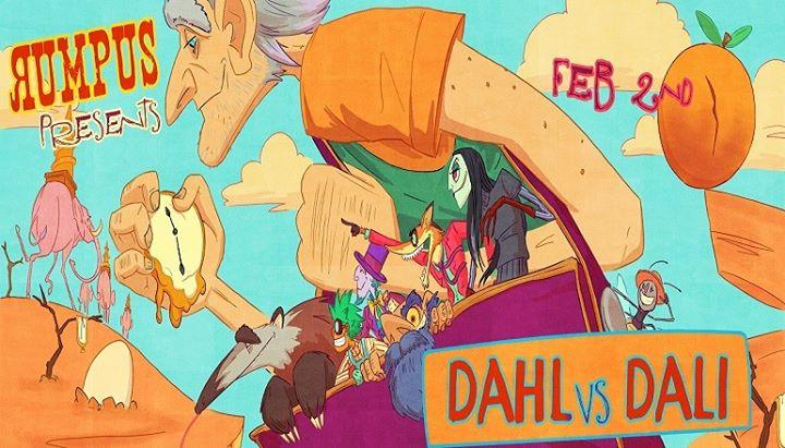 Rumpus Dahl vs Dali