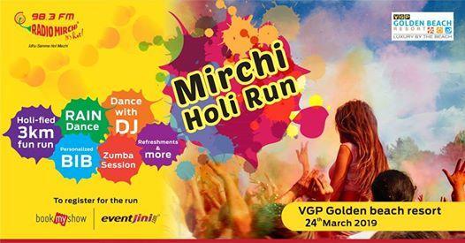 Mirchi Holi Run 2019