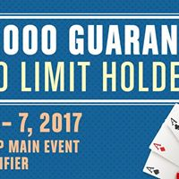 2017 World Series Of Poker Main Event Seat Qualifier