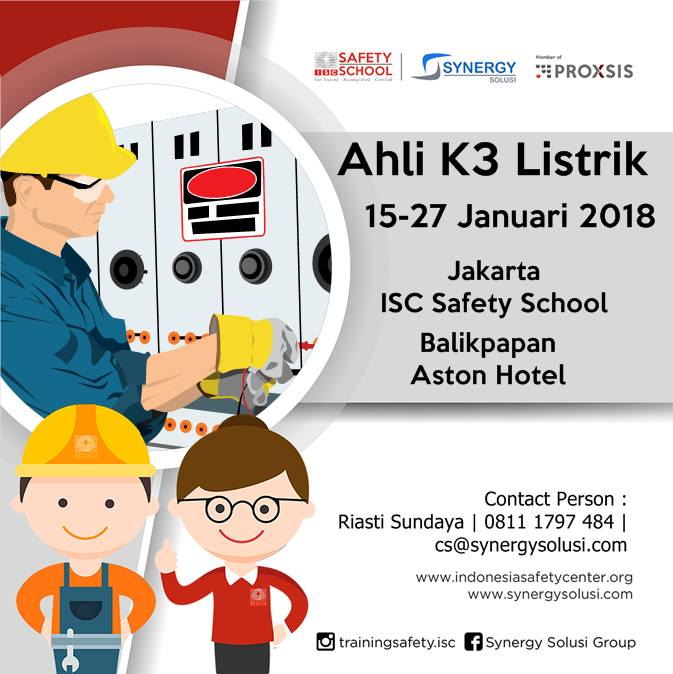 Public Training Ahli K3 Listrik