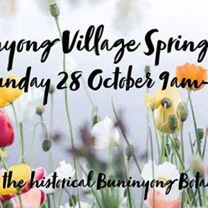 Buninyong Village Spring Market