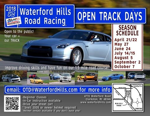 2018 Open Track Day 5