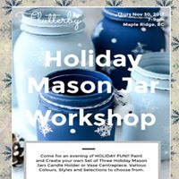 Holiday Mason Jar Workshop