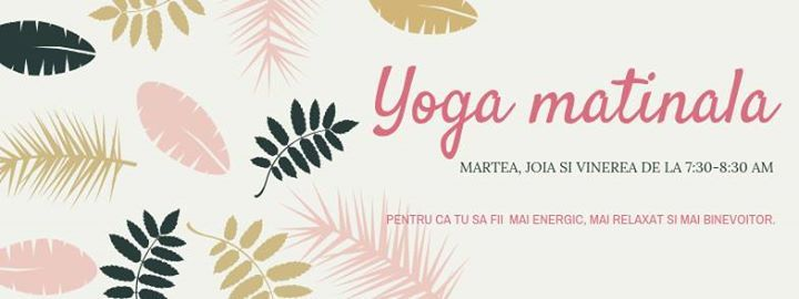 Yoga Matinala in Noiembrie