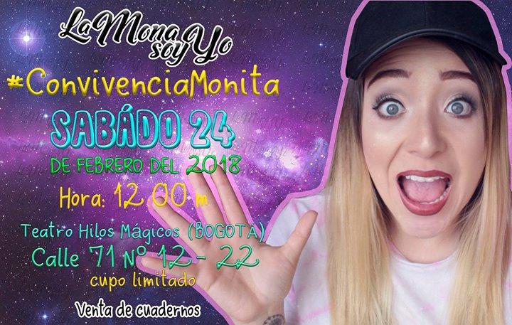 Convivencia La Mona Soy Yo ConvivenciaMonita