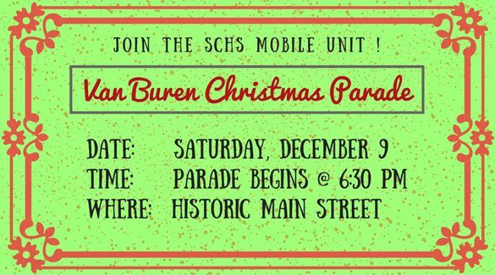 2017 Van Buren Christmas Parade