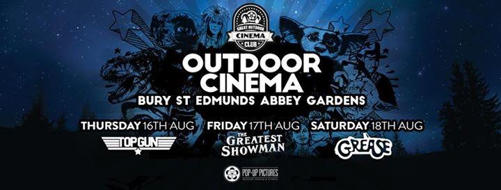 Outdoor Cinema  Bury St Edmunds 2018