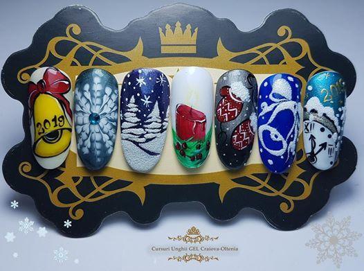 Curs Winter Design Niv 1 At Cursuri Unghii Gel Craiova Oltenia