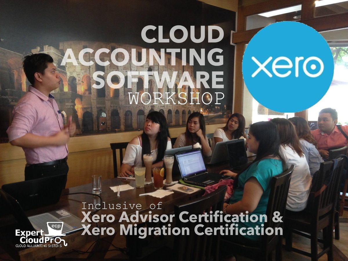 Xero Cloud Accounting Workshop Plus Two Xero Certifications At Il