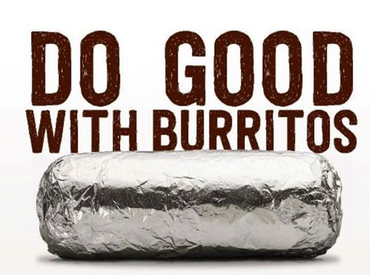 Do Good with Burritos @ Chipotle