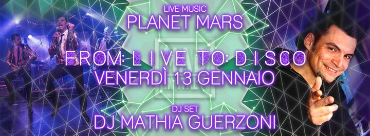 From Live To Disco - Planet Mars