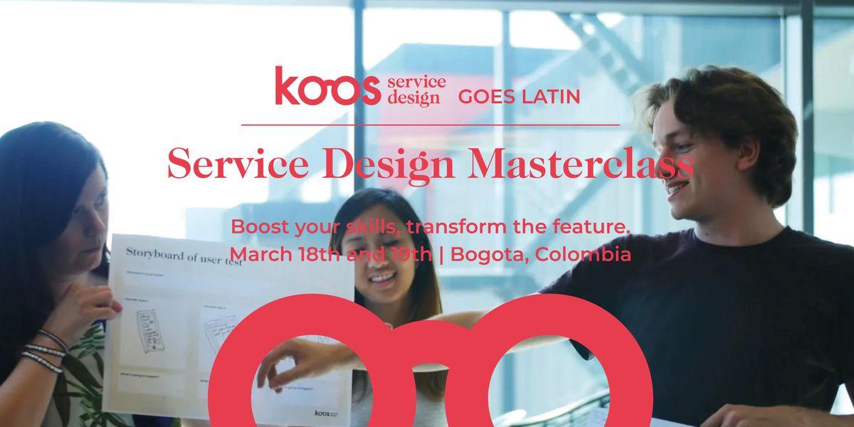 Service Design Masterclass Bogota - 2 days