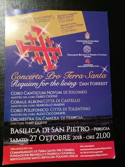 Concerto Pro Terra Santa