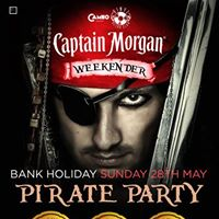 Bank Holiday Sunday - Pirate Party