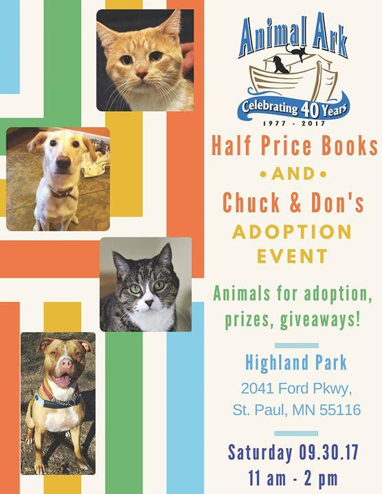 Half Price Books Chuck Don S Adoption Event At Half Price Books