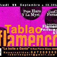 Tablao Flamenco Performance Tapas  Juerga