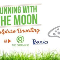 Running with the Moon Sculpture Unveiling