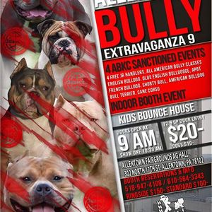 ABKC PURINA FARMS BULLY events in the City  Top Upcoming