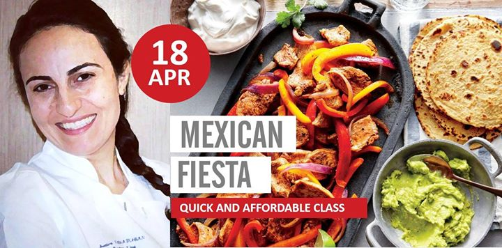 Mexican Fiesta - Quick and Affordable Class