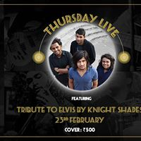 Tribute to Elvis by Knight Shades - Thursday Live