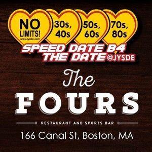 speed dating 50+ boston