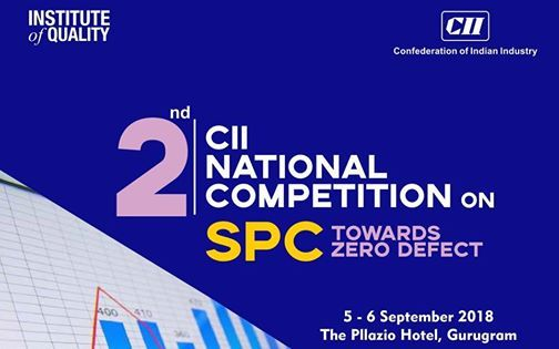 2nd CII National Competition on SPC Towards Zero Defect
