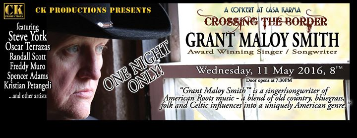 CROSSING THE BORDER  Grant Maloy Smith