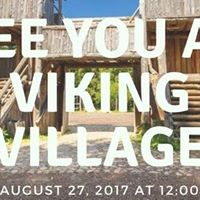 Summer party for the Danish community at Vikings village