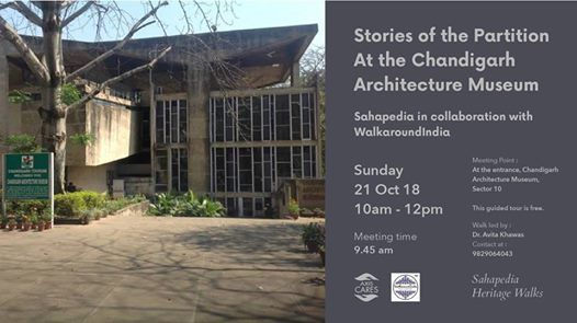 Stories of the Partition  At the Chandigarh Architecture Museum