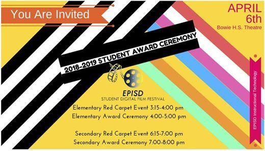 Episd Student Digital Film Festival Award Ceremony At 801 S San