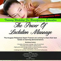 The Power of Lactation Massage Workshop