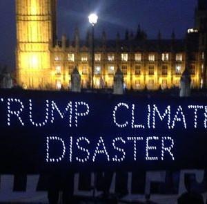 Protest Trumps UK visit - Climate Bloc