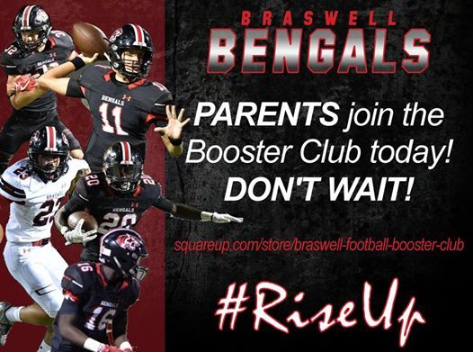 Braswell Football Booster Meeting at Bill Carrico Athletic