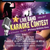 Live Band Karaoke Contest Ediiile LIVE