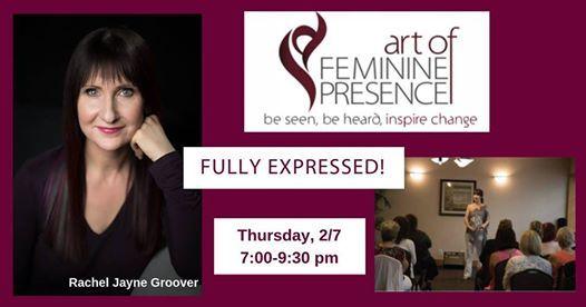 The Art of Feminine Presence Fully Expressed