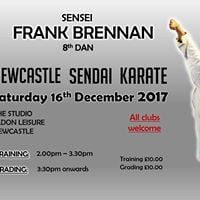 Training &amp Grading with Sensei Frank Brennan