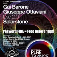 Solarstone &amp Giuseppe Ottaviani SoundBar Saturday Password FIRE