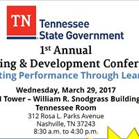 1st Annual Learning &amp Development Conference Tennessee