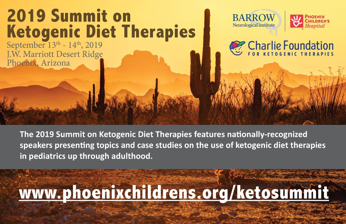 Exhibit at the 2019 Summit on Ketogenic Diet Therapies