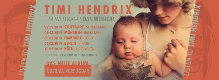 Timi Hendrix  Stuttgart - Schrglage