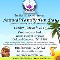 Annual Family Fun Day