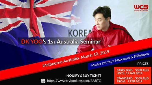 DK Yoo 1st Australia Seminar