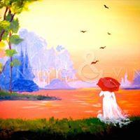 Red Umbrella- Paint Night