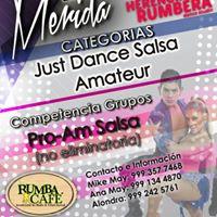 Eliminatoria en Mrida rumbo al Festiva Salsa &amp Bachata Fest 2016