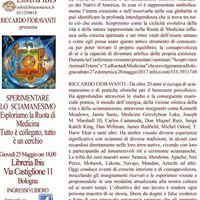 Riccardo Fioravanti presenta Sperimentare lo sciamanesimo